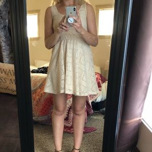 Nordstrom Lace Fit and Flare Dress